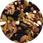Mélange de noix et raisins secs