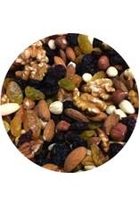 Les noix et les raisins secs mélange