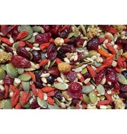 Frugt og nødder mix