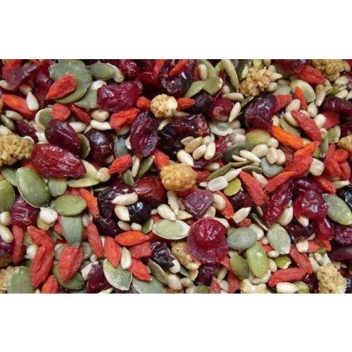 Mélange de fruits et graines