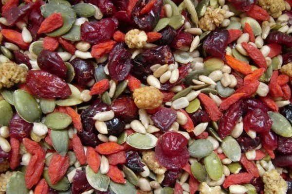 Fruit en pitten mix