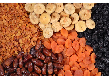 Tørrede frugter