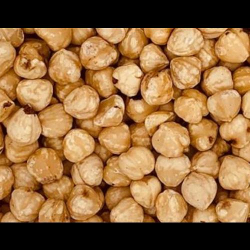 Organic blanched hazelnuts