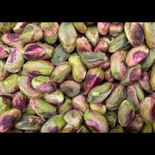 Biologische pistachenoten gepeld