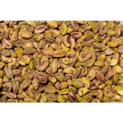 Los pistachos pelados