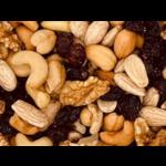 Mélange noix et canneberges