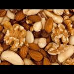 Mélange de noix crues