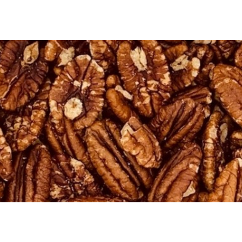 Pecans roasted with salt