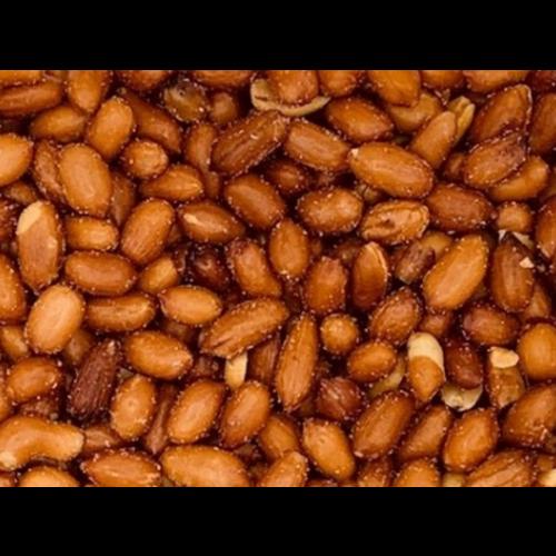 Erdnüsse mit haut geröstet