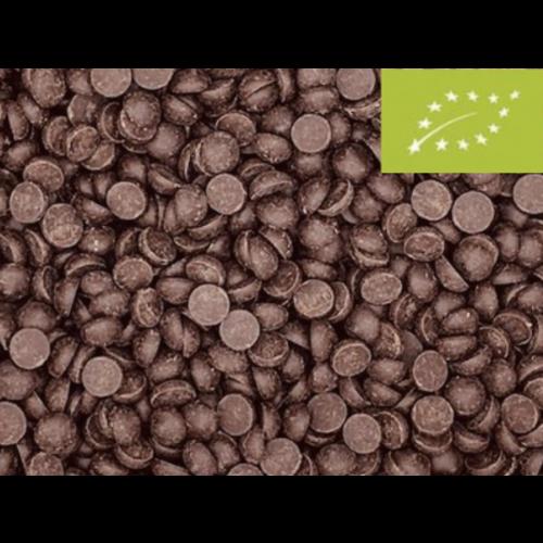 Gocce di cioccolato biologico