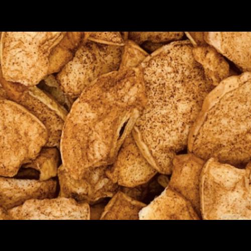 Chips di mele alla cannella