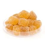 terrones de azúcar granulada jengibre