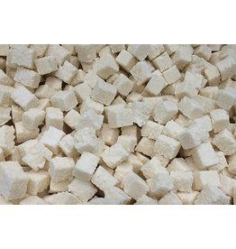 En cubos de coco suave