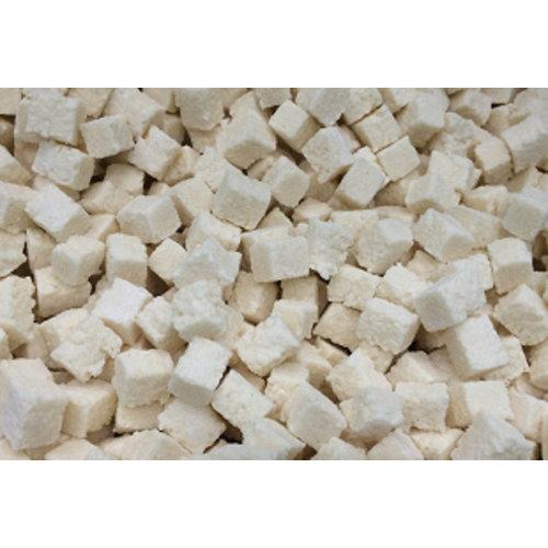 Noix de coco séchée en cubes moelleux