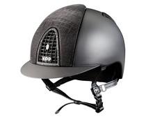 Textile black with front and back Galassia blackt. Black frame with Sparkling black Swarovski.