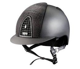 KEP Italia textile black with galassia front and back - swarovski frame