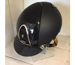 KEP Italia textile zwart met polish voorzijde - rose gold frame