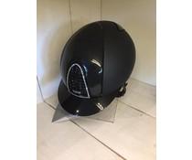 Kep Italia textile black with polish inserts en swarovski frame