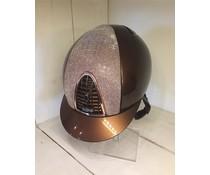 Kep Italia Metal brons met pink galassia inzet