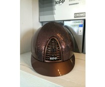 KEP Italia cromo metal brown with glitter brown front