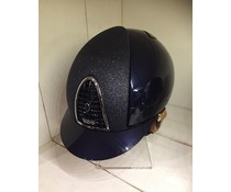 KEP Italia metal blue with star front - cognac chinstrap