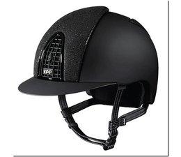 Cromo Textile zwart met glitter voorzijde.