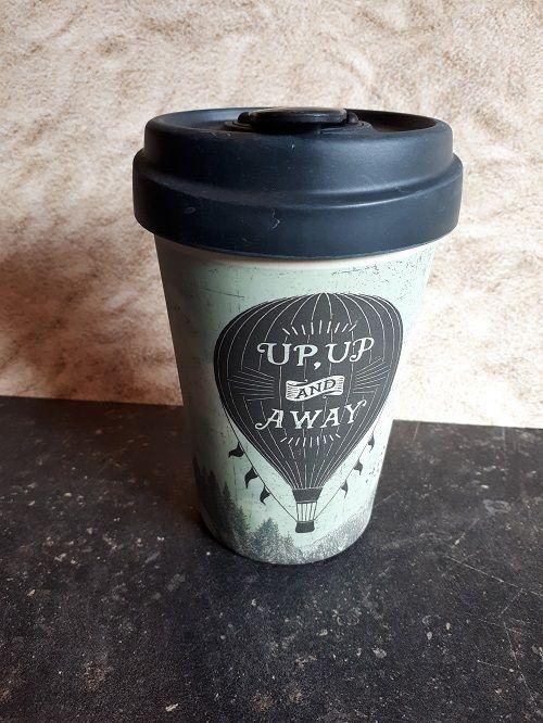 """BambooCup Bamboo-Cup """"Up an Away"""""""