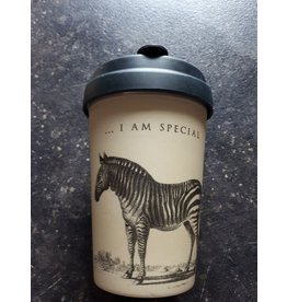 "BambooCup Bamboo-Cup ""Special Zebra"""
