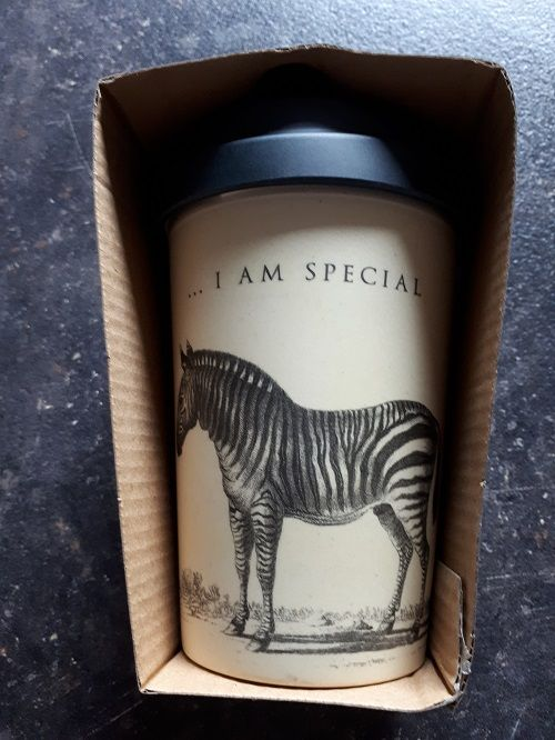 """BambooCup Bamboo-Cup """"Special Zebra"""""""