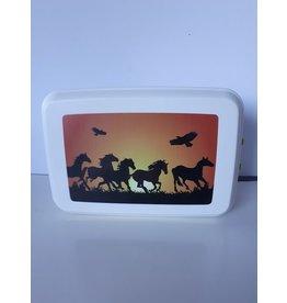 Biodora Lunchbox Motiv  Pferde