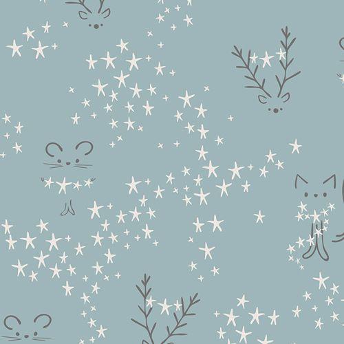 Art Gallery Fabrics Art Gallery Fabrics Starbright Fog Jersey