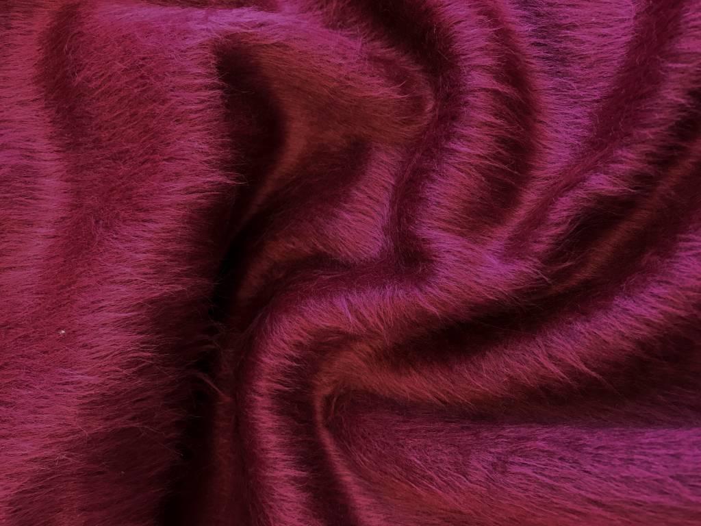 La Maison Victor Dubbelzijdige sweaterstof bordeaux
