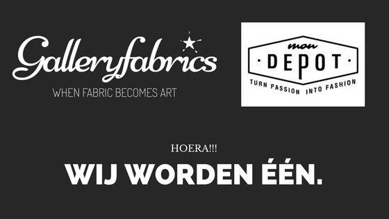 MonDepot & GalleryFabrics: welkom!