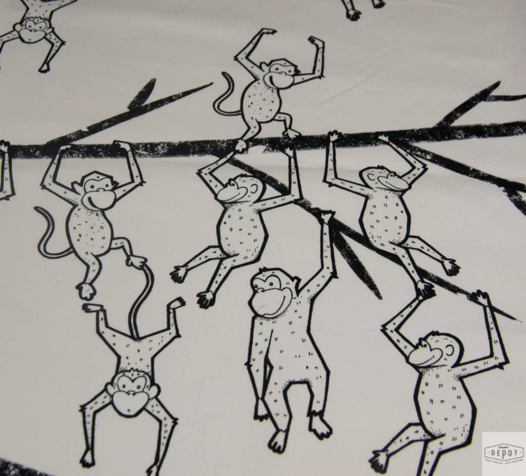 RitaCoRita RitaCoRita - Stretchkatoen Monkeys