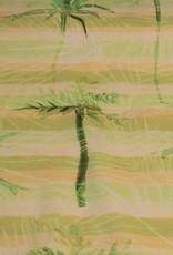 La Maison Victor La Maison Victor -Katoenen stof met gele Hawaii-print