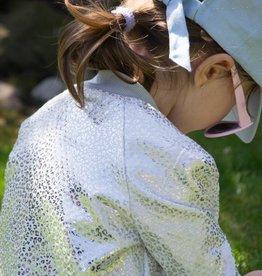 Anne Kurris Wit zilveren stevige stof