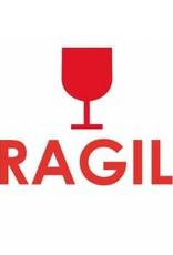 Fragile - Stripes Brown