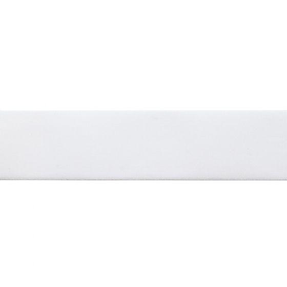 Taille-elastiek wit 40mm