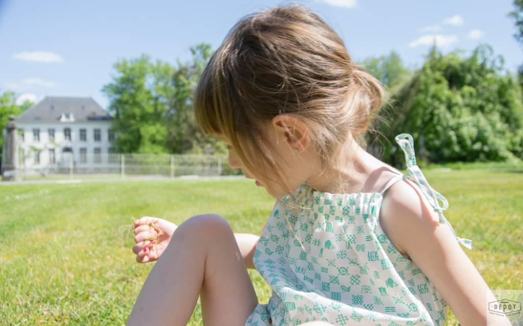 Summer Romper in een stof van Amelia Milano