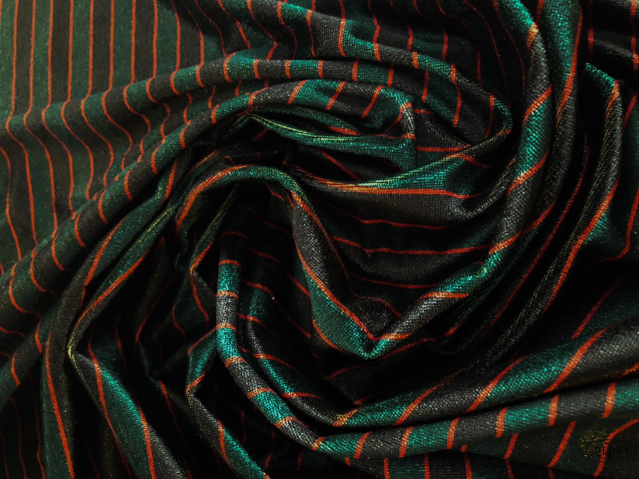 Fragile Fragile - Velvet Stripes