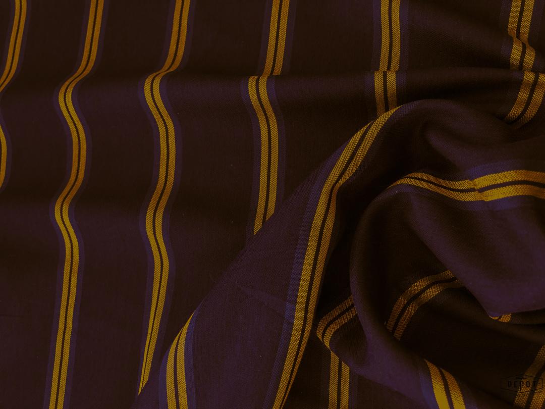 Maankids Maan - Viscose Stripes Blue/Brown