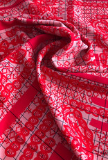 Maankids Maan - Viscose Red