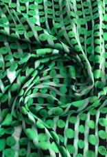 Maankids Maan - Viscose Green/Black