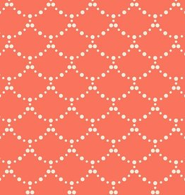 Art Gallery Fabrics Riples Coral