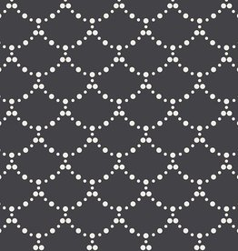 Art Gallery Fabrics Ripples Black