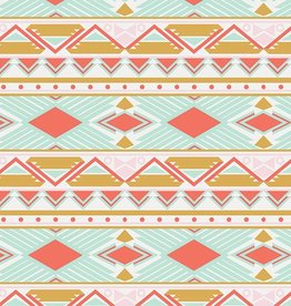Art Gallery Fabrics Tribal Study Aura