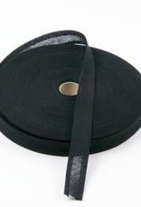 Biais katoen zwart 20mm