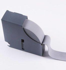 Taille-elastiek grijs