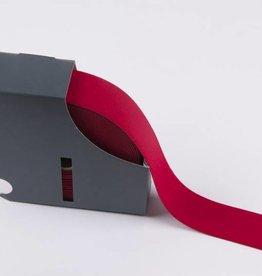 Taille-elastiek rood