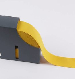 Taille-elastiek geel